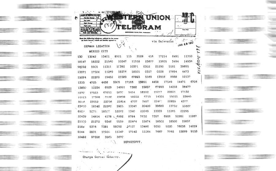 The Zimmerman Telegram