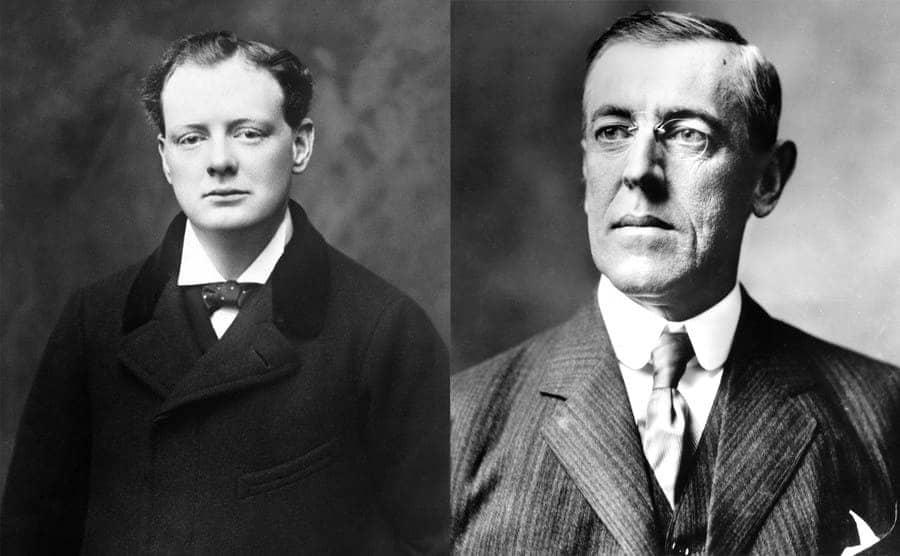 Winston Churchill / Woodrow Wilson
