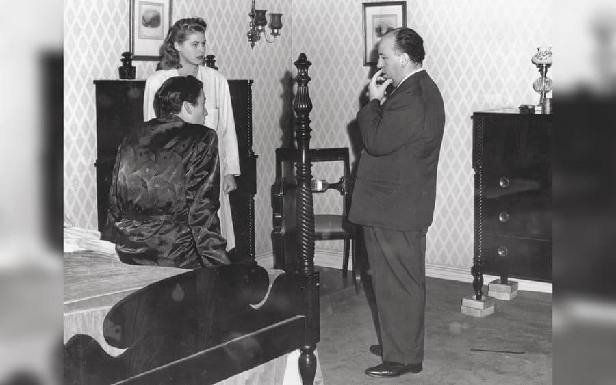 Spellbound – 1945, Gregory Peck, Ingrid Bergman, Alfred Hitchcock