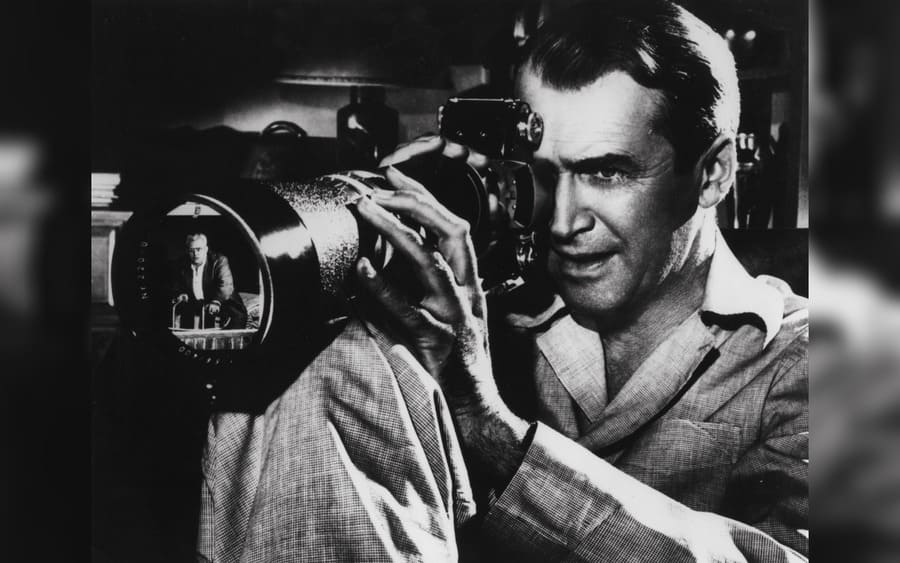 Rear Window – 1954, Raymond Burr, James Stewart
