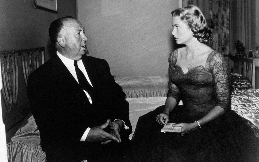 Film Stills of 'Dial M for Murder' 1954, Alfred Hitchcock, Grace Kelly