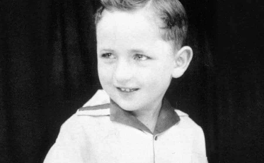 Dave Thomas as a young boy