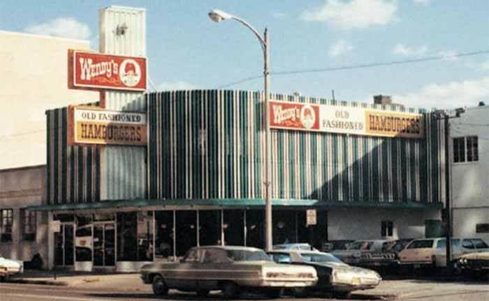 An old Wendy's restaurant