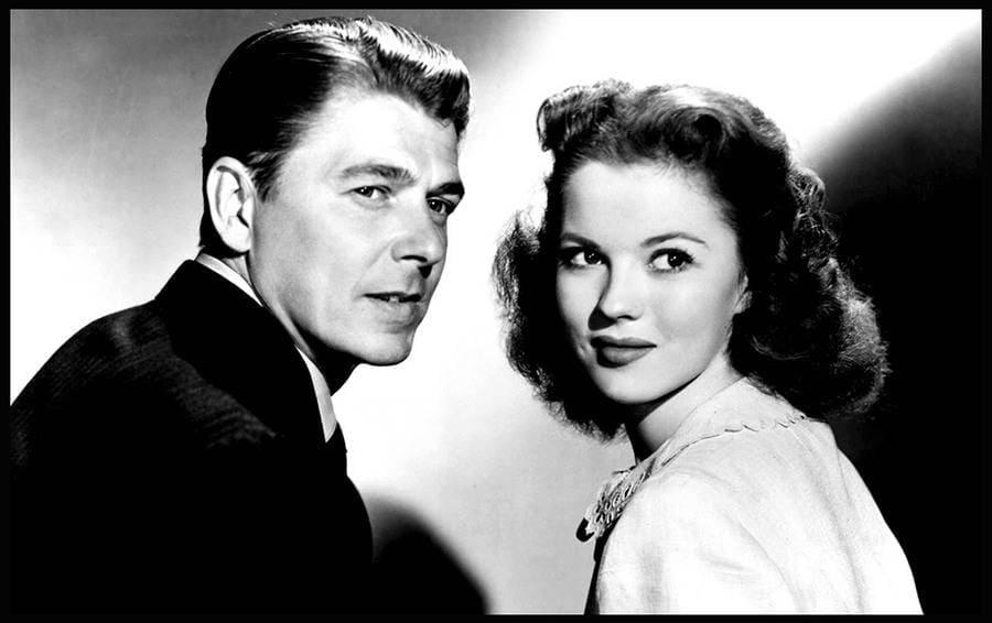 That Hagen Girl, Ronald Reagan, Shirley Temple