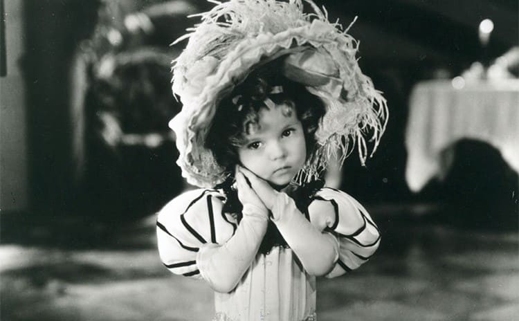 Shirley Temple performing
