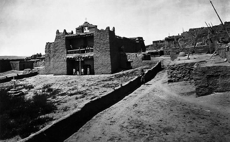 Church Zuni Pueblo