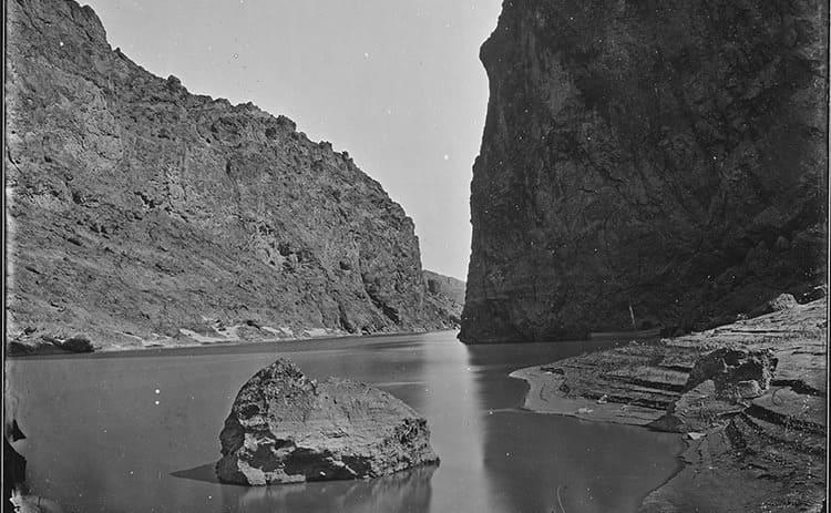 Black Canyon, on the Colorado River border between Nevada and Arizona