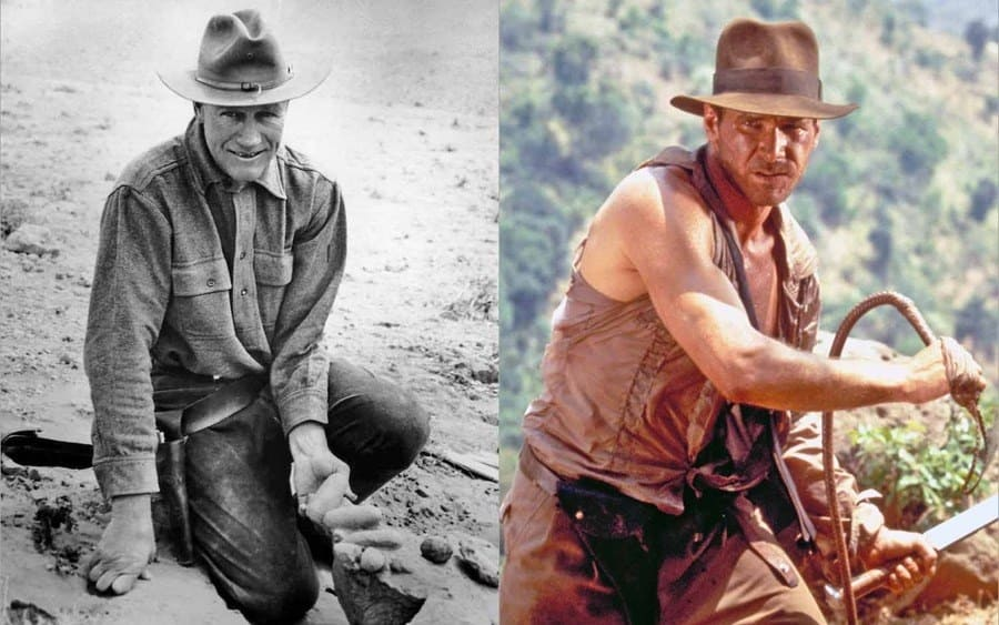 Roy Chapman Andrews / Harrison Ford