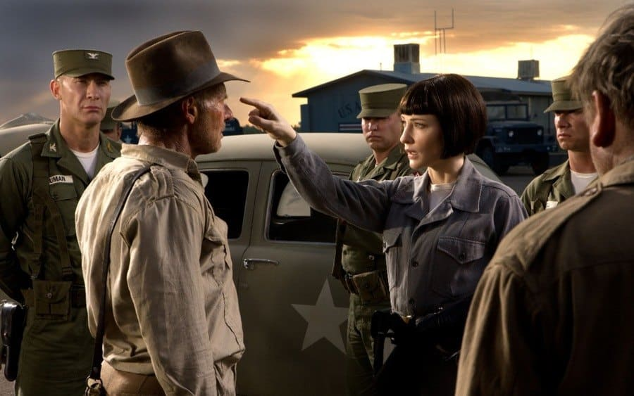 Indiana Jones And The Kingdom Of The Crystal Skull, Harrison Ford, Cate Blanchett