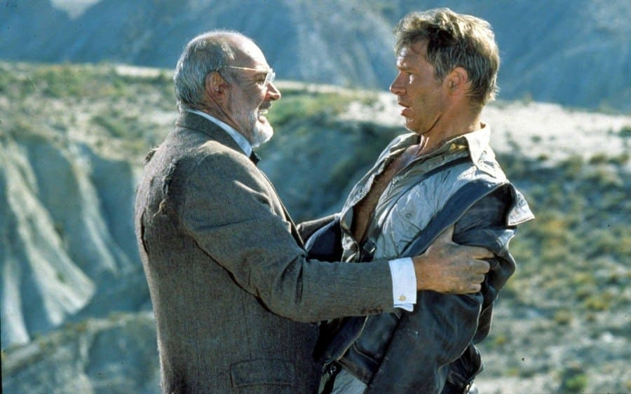 Indiana Jones And The Last Crusade, Sean Connery, Harrison Ford