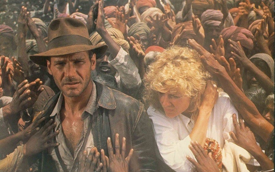 Indiana Jones and The Temple of Doom, Harrison Ford, Kate Capshaw