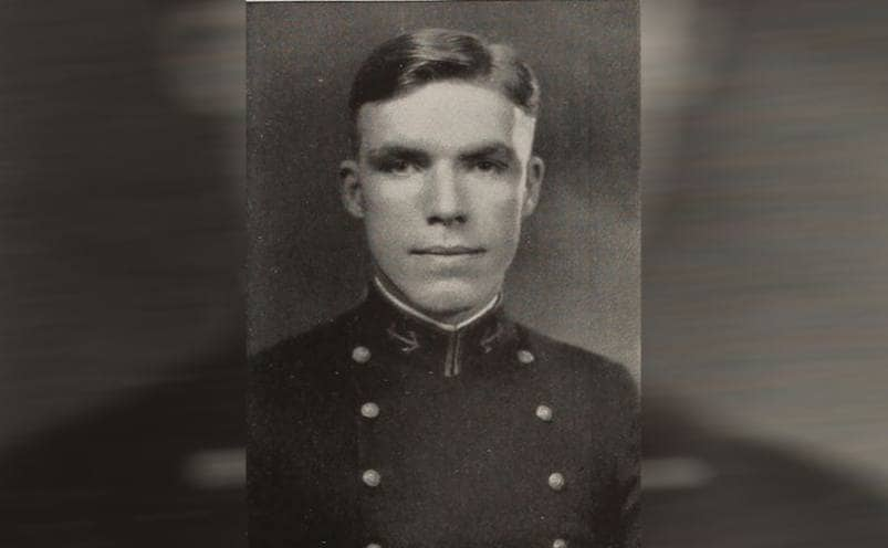 Dudley Mush Morton in uniform