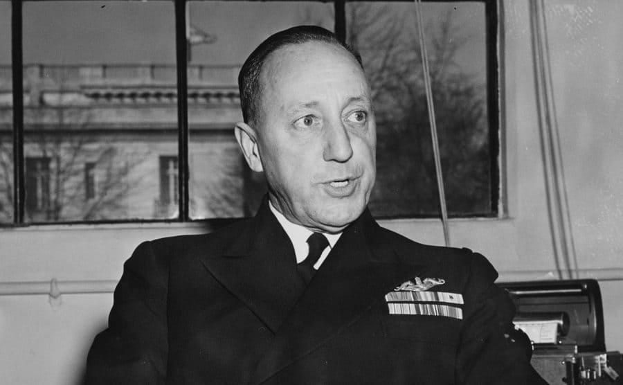 Admiral Charles Lockwood