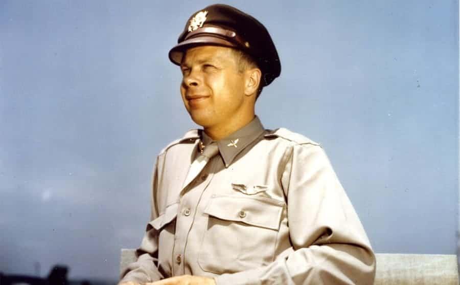Richard Bong in uniform