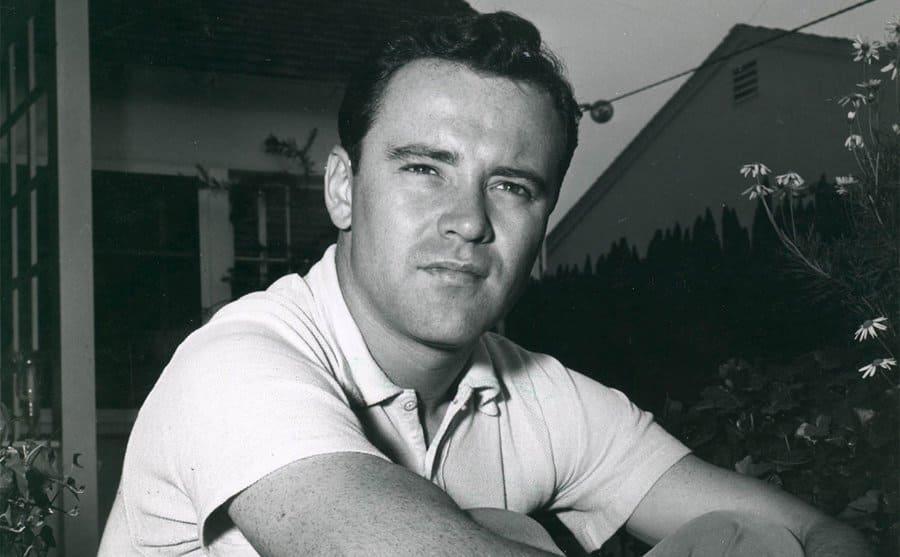A portrait of young Jack Lemmon