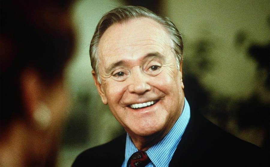 A portrait of Jack Lemmon