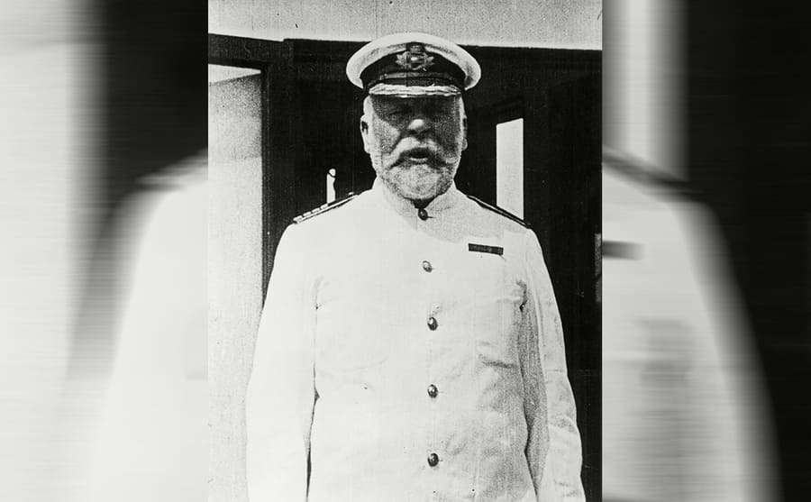 Captain Edward J Smith in uniform