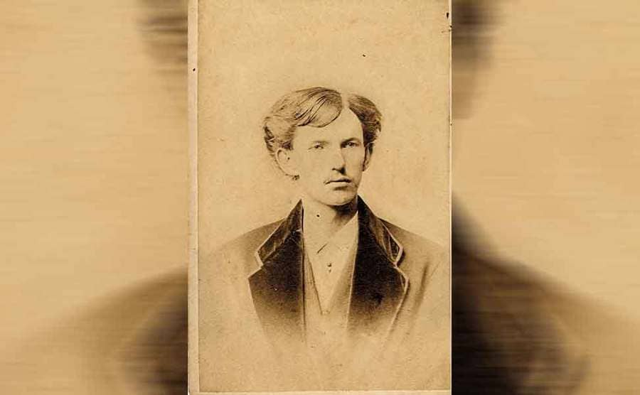 Doc Holliday as a younger man