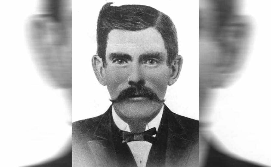 A portrait of Doc Holliday