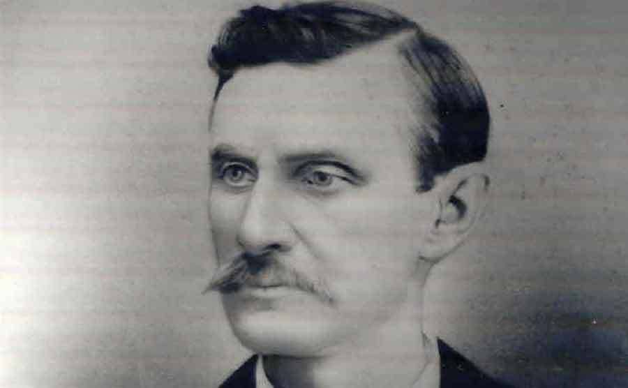 A photograph of Doc Holliday