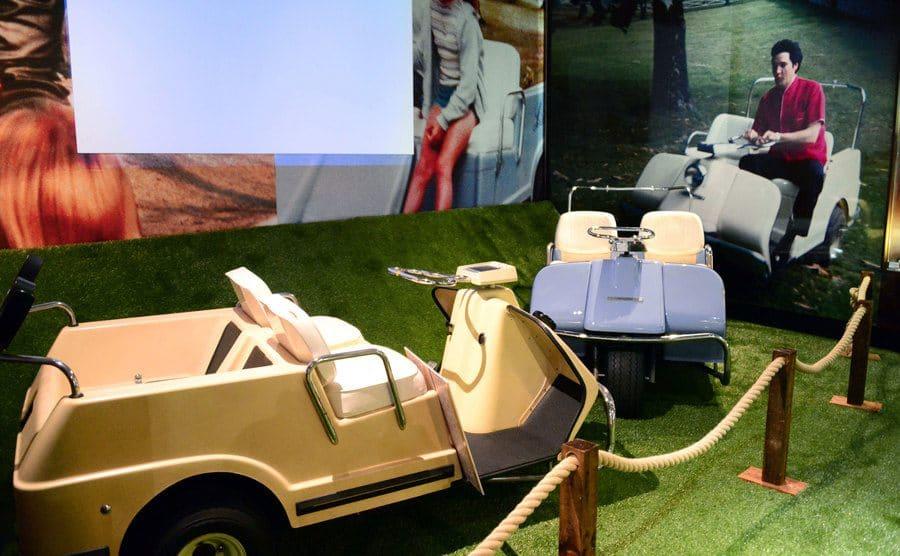 Elvis Presley's golf carts