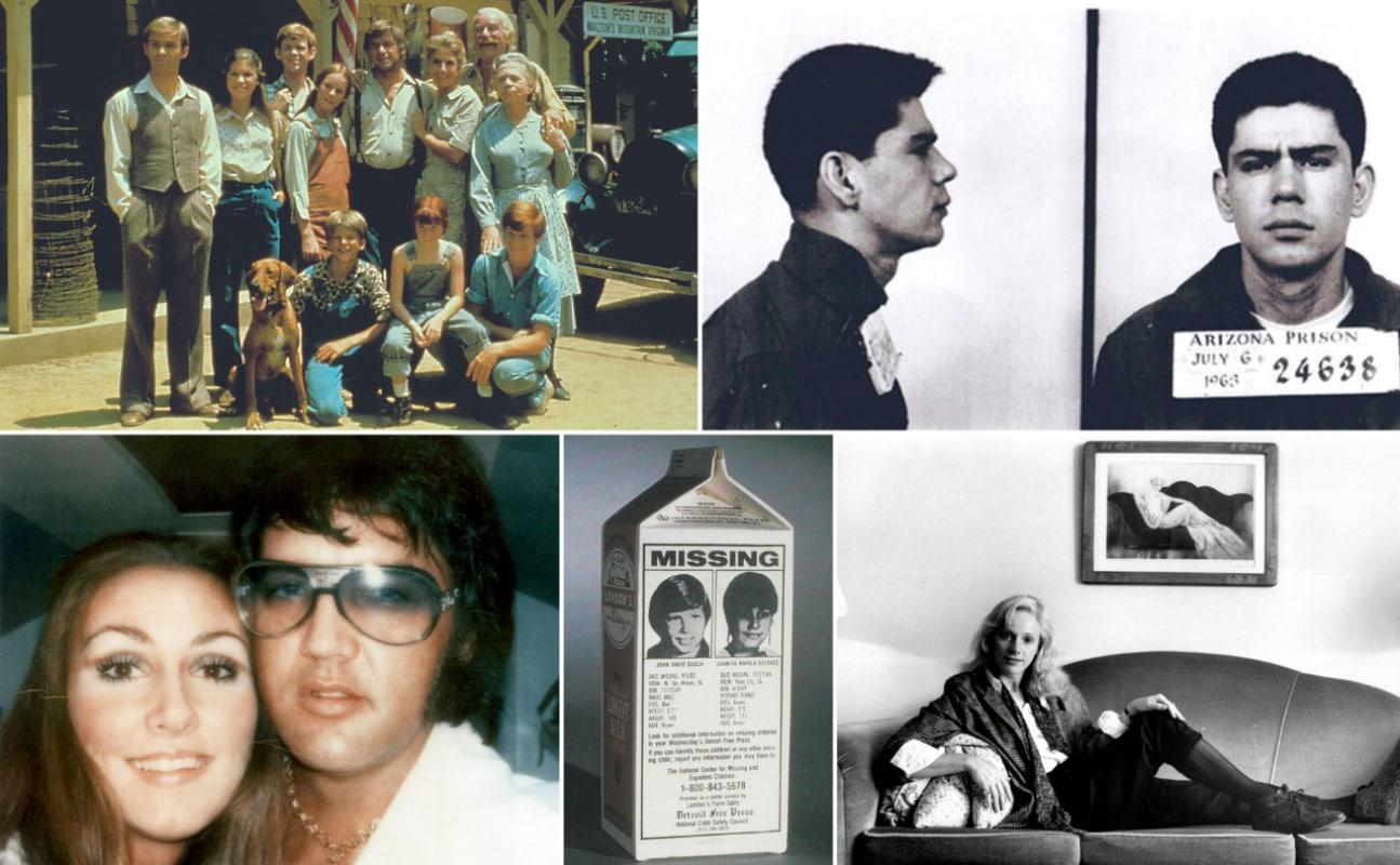 The Waltons, Linda Thompson, The Faces On The Milk Carton, Sondra Locke, the Miranda Rights