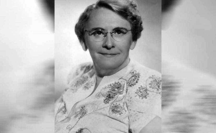 A portrait of Georgia Tann