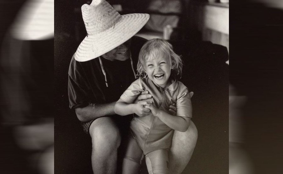Phil and Birgen Hartman as a young girl