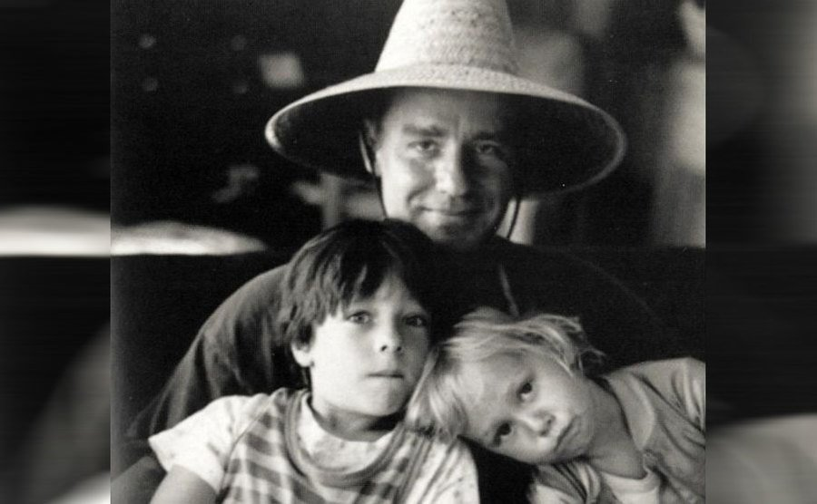 Phil Hartman and his children