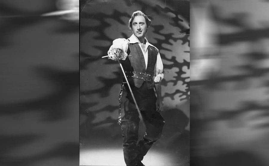 Gene Wilder fencing