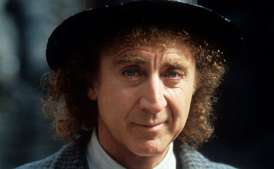 Gene Wilder in a hat and jacket in a scene from Another You 1991