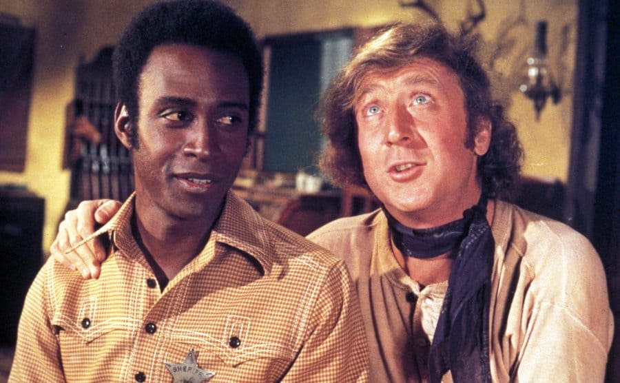 Cleavon Little and Gene Wilder in Blazing Saddles