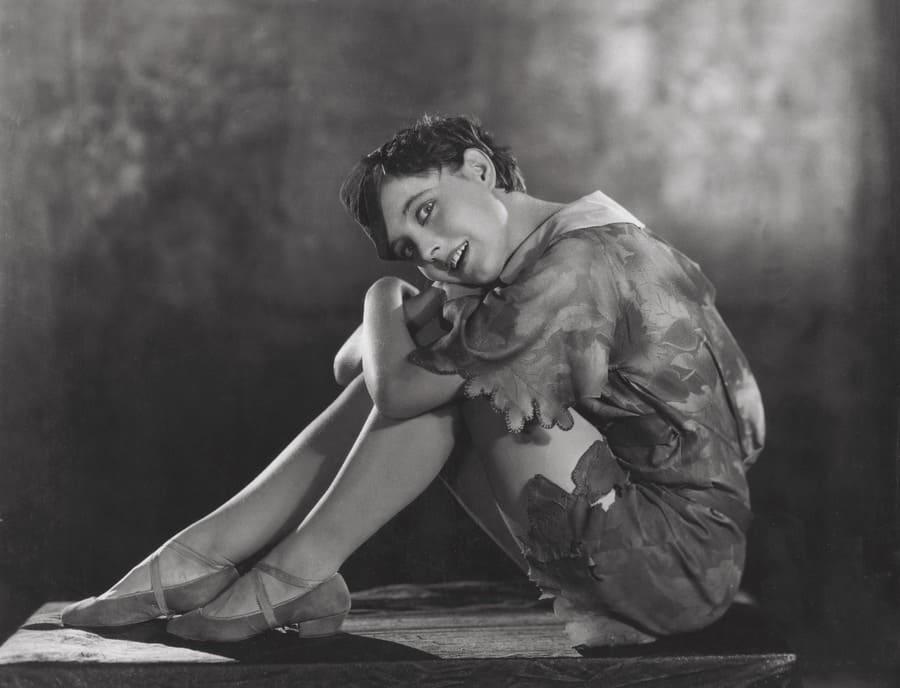 Betty Bronson in Peter Pan, 1924.