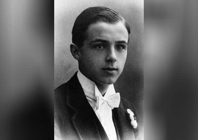 Michael Llewelyn Davies in the early 1900s as a young boy.