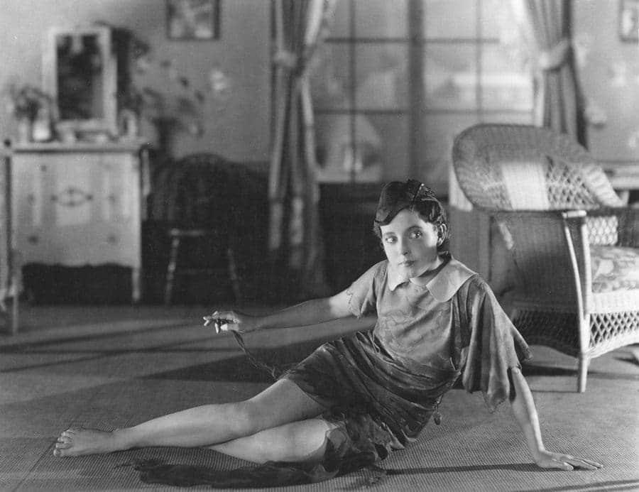 Betty Bronson as Peter Pan in 1924.