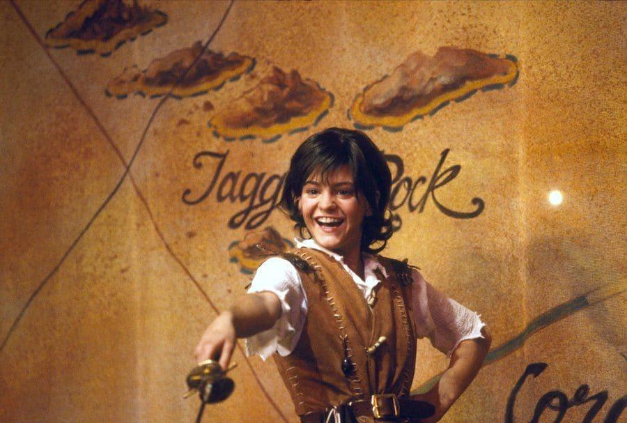 Nicola Stapleton as Peter Pan in the Peter Pan Musical, 1994.