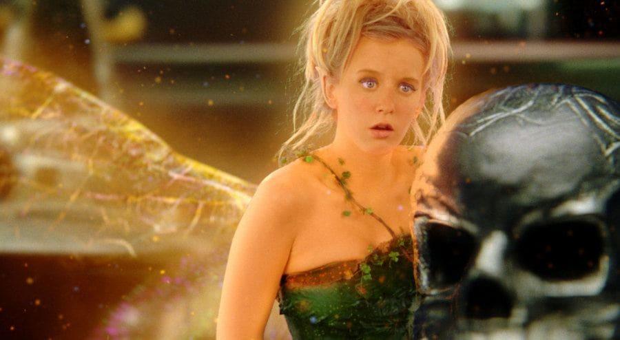 Ludivine Sagnier as Tinkerbell in Peter Pan, 2003.