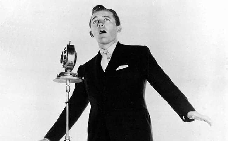 Bing Crosby performing