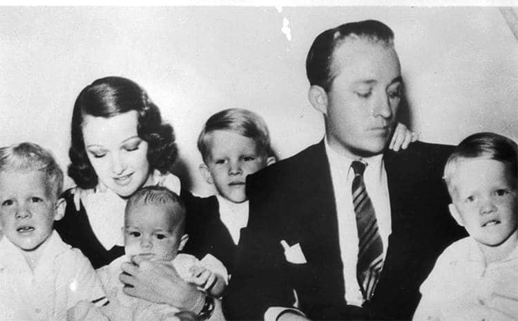Bing Crosby and Dixie Lee with their four children