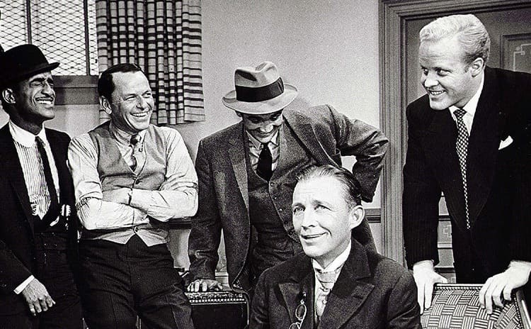 Bing Crosby and Phil Crosby in Robin and the Seven Hoods 1964