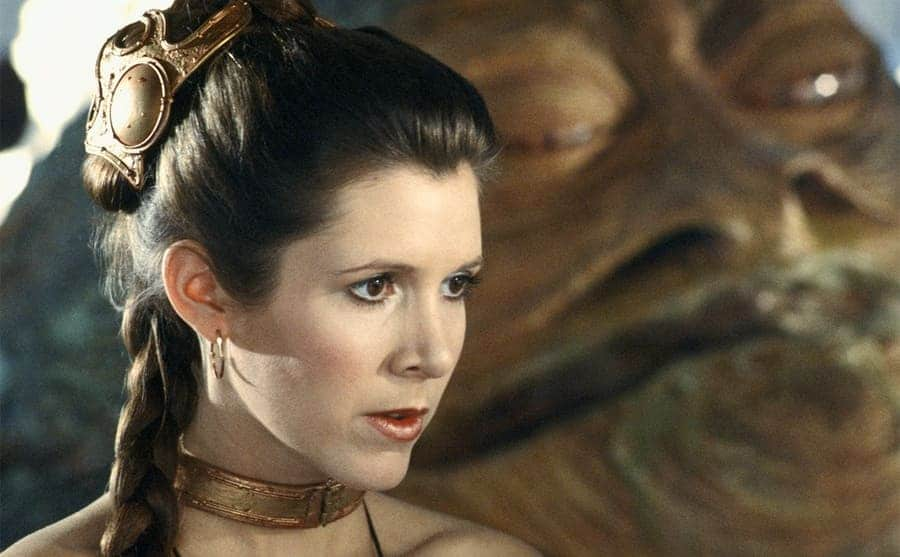 Carrie Fisher in Star Wards Episode Vi