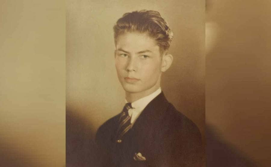 Desmond Doss in a high school photograph