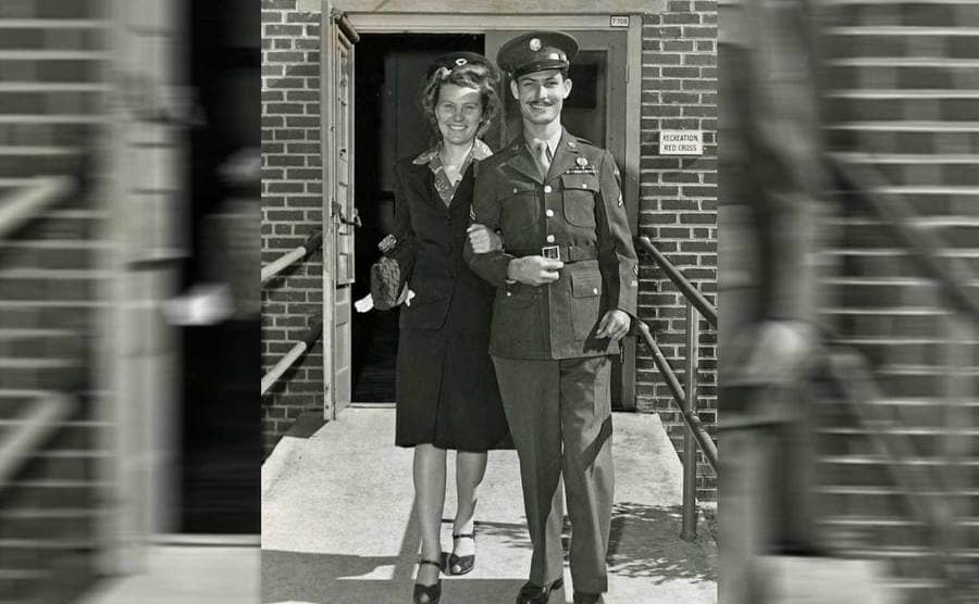 Desmond Doss and his wife, Dorothy