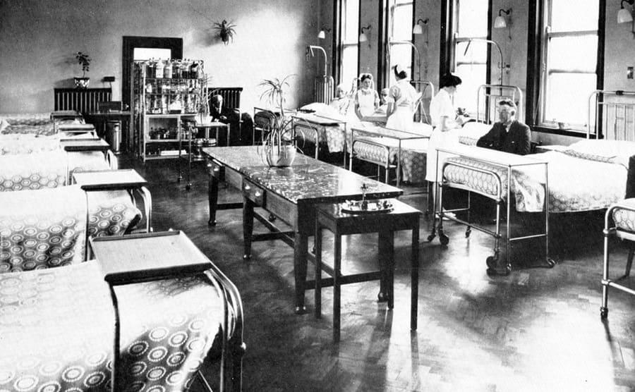 1950s Hospital Ward