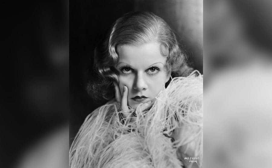 Hollywood star Jean Harlow as Lil Legendre in 'The Red-Headed Woman.'