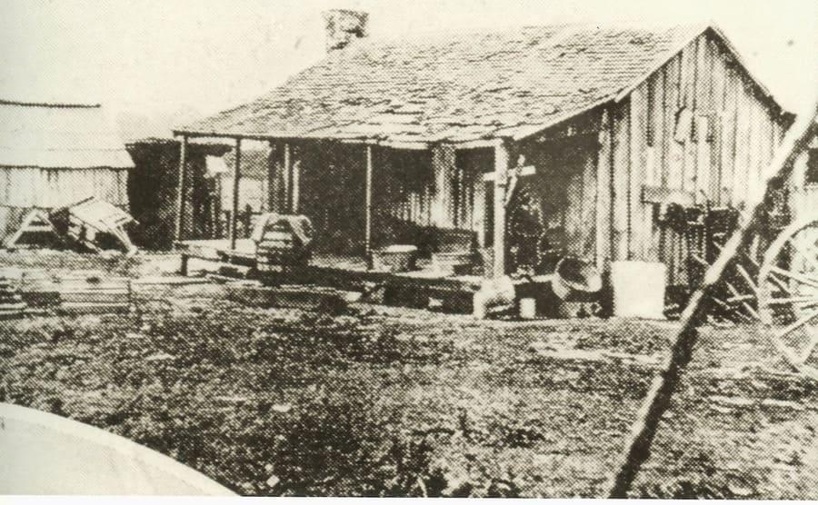 The Breedlove cabin in Delta, Louisiana