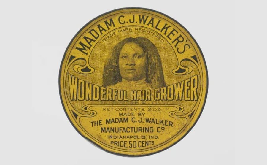 Madam C.J. Walker's wonderful hair grower