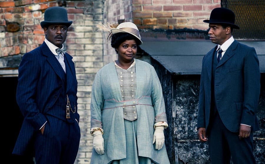 Octavia Spencer as Madam C.J. Walker and others in Self Made