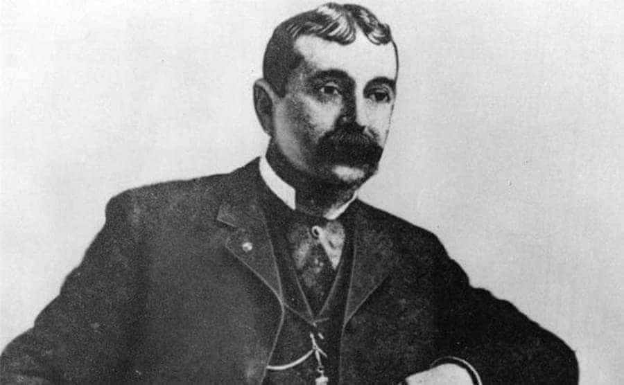 A portrait of John A. Cockerill
