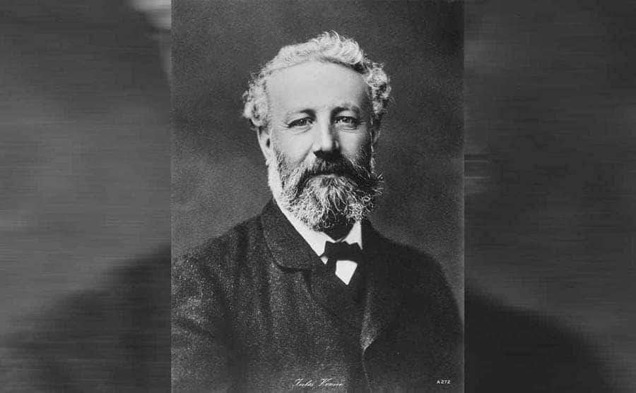 A portrait of Jules Verne